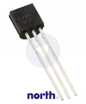 BC517 Tranzystor TO-92 (npn) 30V 0.5A 220MHz