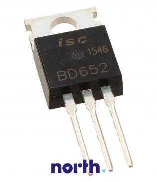 BD652 Tranzystor TO-220 (pnp) 120V 8A 10MHz