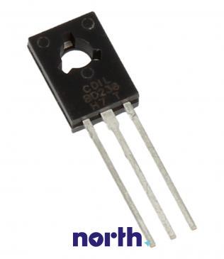 BD238 Tranzystor TO-126 (pnp) 80V 2A 3MHz