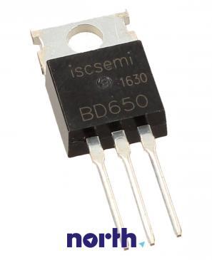 BD650 Tranzystor TO-220 (pnp) 100V 8A 3MHz
