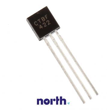 BF422 Tranzystor TO-92 (npn) 250V 0.05A 100MHz