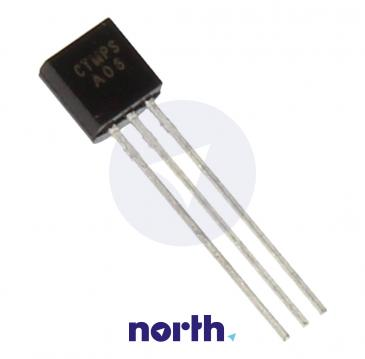 MPSA06 Tranzystor TO-92 (npn) 80V 0.5A 100MHz