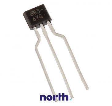 2SC2603 Tranzystor TO-92 (npn) 50V 0.2A 200MHz