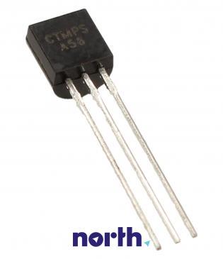 MPSA56 Tranzystor TO-92 (pnp) 80V 500mA 50MHz