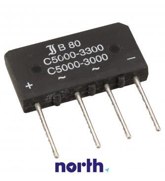 B80C5000-3300 Mostek prostowniczy 80V 5A SO33/205
