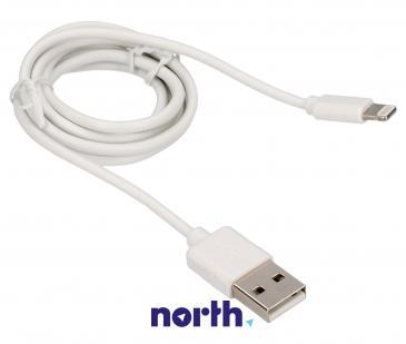 Kabel APPLE 1m USB A - Lightning (wtyk/ wtyk)