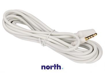 Kabel 3m JACK 3.5mm 4 pin - JACK (wtyk/3.5mm 4 pin gniazdo)