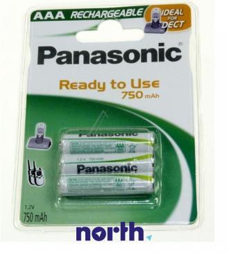 R3 Akumulator AAA 1.2V 750mAh Panasonic (3szt.)