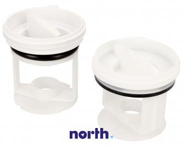 Filtry pompy odpływowej (zestaw 2szt.) do pralki 484000000966