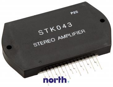 STK043 Układ scalony IC