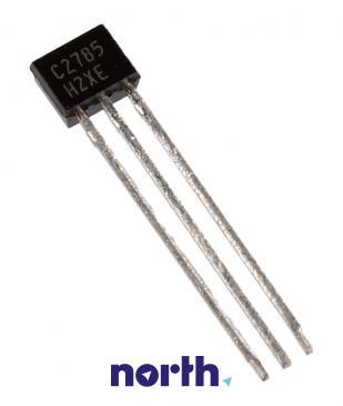 2SC2785 Tranzystor TO-92 (npn) 50V 0.1A 450MHz