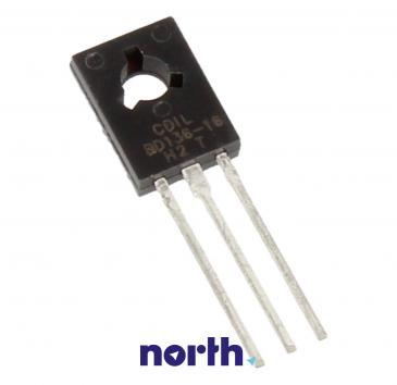 BD136-16 Tranzystor TO-126 (pnp) 45V 1.5A 75MHz