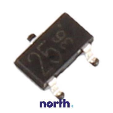 DTC124K Tranzystor SOT-23 (npn) 50V 100mA 1MHz