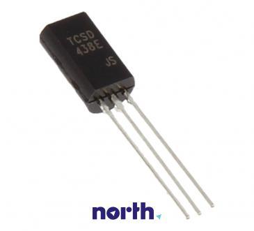2SD438 Tranzystor TO-92 (npn) 80V 0.7A 100MHz