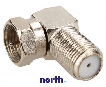 Adapter F antenowy (wtyk/gniazdo) standard