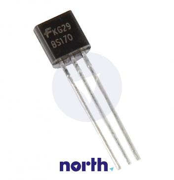 BS170 Tranzystor TO-92 (n-channel) 60V 0.5A 100MHz