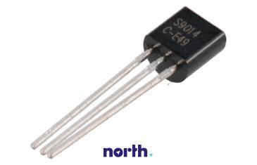 S9014 Tranzystor TO-92 (npn) 45V 0.1A 150MHz