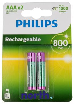 R3 Akumulator AAA 1.2V 800mAh Philips (2szt.)