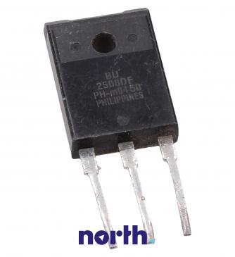 BU2508DF Tranzystor SOT-199 (npn) 1500V 8A 1MHz