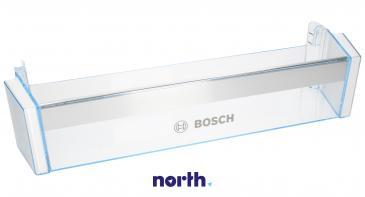 Balkonik | Półka na butelki na drzwi chłodziarki (dolna) do lodówki Bosch 00704760