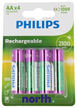R6 Akumulator AA 1.2V 2100mAh Philips (4szt.)