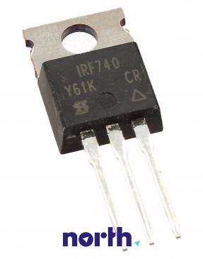 IRF740 Tranzystor TO-220AB (n-channel) 400V 10A 10MHz