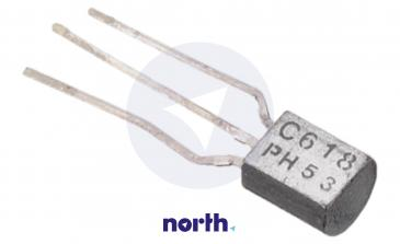BC618 Tranzystor TO-92 (npn) 55V 0.5A 155MHz