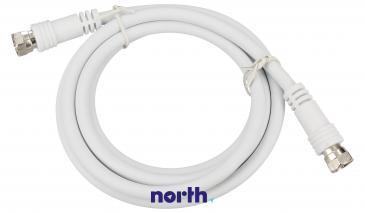 Kabel antenowy Złącze F 1.5m (wtyk/wtyk) standard