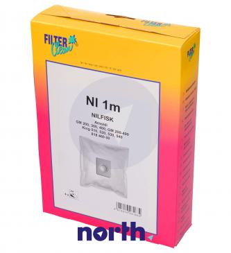Worek do odkurzacza NI1M Nilfisk 4szt. FL0251K