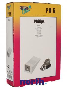 Worek do odkurzacza PH6 Philips 4szt. 000232K