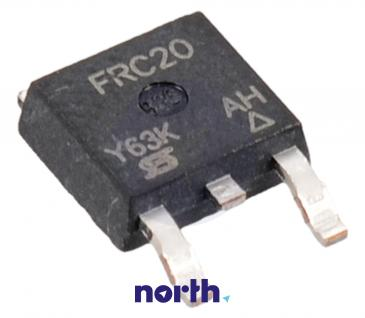 IRFRC20 Tranzystor TO-252 (n-channel) 600V 2A 43MHz