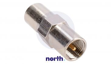 Adapter antenowy BNC - FME (wtyk/ wtyk)