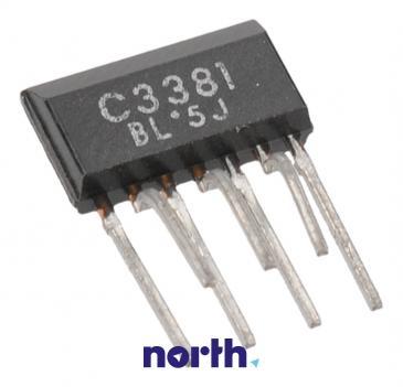 2SC3381 Tranzystor SOT-89 (npn) 80V 0.1A 1MHz