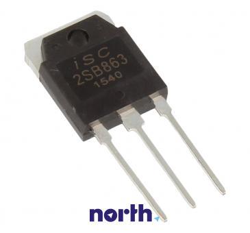 2SB863 Tranzystor TO-3P (pnp) 140V 10A 15MHz