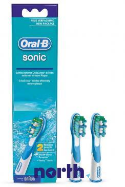 Szczoteczka | Końcówka SR18-2 Sonic do szczoteczki do zębów 2szt. Oral-B 64717777