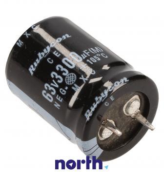 3300uF | 63V Kondensator elektrolityczny 105°C 36mm/22mm