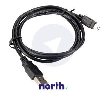 Kabel 1.2m USB A - USB B mini (wtyk/ wtyk)