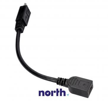 Adapter USB B mini - USB (gniazdo/ B micro wtyk)