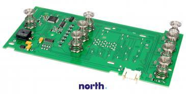 Moduł obsługi panelu sterowania skonfigurowany do pralki Bosch 00654025