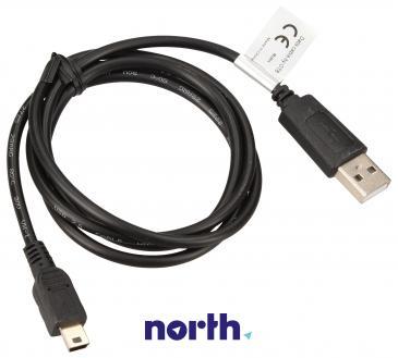 Adapter USB A - USB (wtyk/ B mini wtyk)