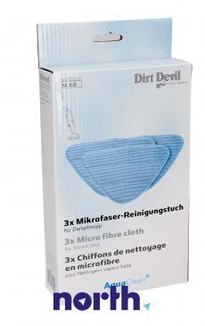 Nakładka | Pad z mikrofibry 3szt. do mopa parowego 0318022