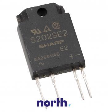 S202SE2 Mostek prostowniczy 600V 8A SIP