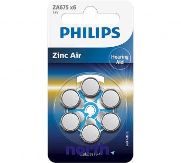 ZA675 Bateria Zn-air 1.4V (6szt.) aparatów słuchowych