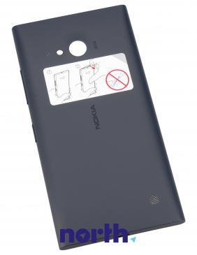 Klapka baterii do smartfona Nokia Lumia 730 / 735 02507Z3 (czarna)