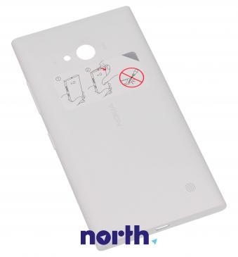 Klapka baterii do smartfona Lumia 730 / 735 02507Z7 (biały)