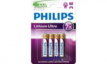 R3 | LR3 | MN2400 Bateria AAA litowa (Lithium Ultra) 1.5V Philips (4szt.)