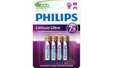 R3 | LR3 | MN2400 Bateria AAA litowa (Lithium Ultra) 1.5V Philips 4szt.