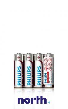 R6 | LR6 | Bateria AA (Power Alkaline) 1.5V Philips (4szt.)