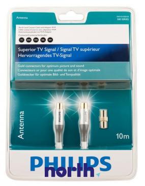 Kabel antenowy 10m Philips (wtyk/gniazdo) HQ
