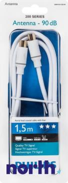 Kabel antenowy 1.5m (wtyk/gniazdo)
